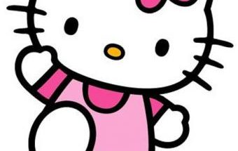 Hello Kitty en Rosa imágenes