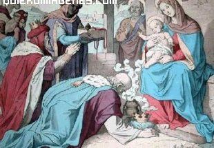 Adoración de los Reyes Magos al niño Jesús imágenes