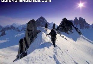 Alpinismo de altura imágenes
