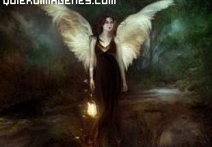 Angel con farolillo imágenes