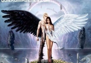 Pareja de ángeles imágenes