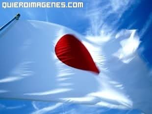 Bandera de Japón imágenes