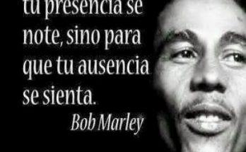 Frase de Bob Marley imágenes