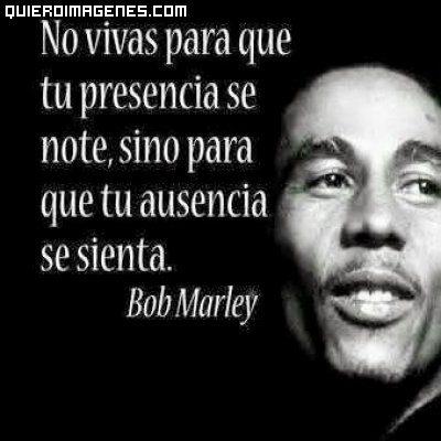 Frase De Bob Marley Imágenes Gratis