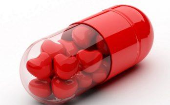 Cápsula con corazones imágenes