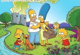 Dibujo de la familia Simpson al completo imágenes