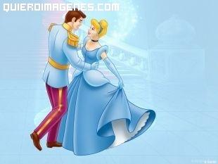 Cenicienta y el príncipe bailando imágenes