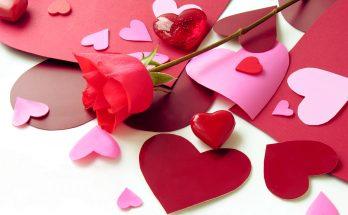 Corazones y rosa imágenes