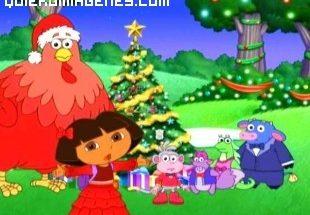 Dora exploradora en Navidad imágenes