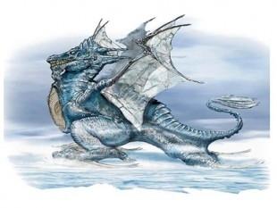 Dragon azul imágenes