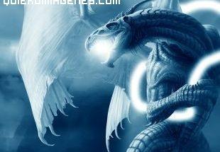Dragón azul imágenes