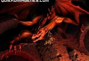 Dragon rojo protector imágenes