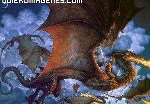 Dragón hostil imágenes