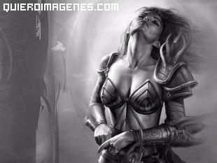 El reposo de una preciosa guerrera imágenes