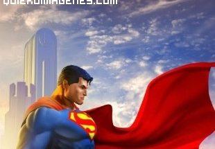 El superhéroe Superman imágenes
