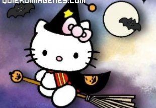 Hello Kitty y Halloween imágenes