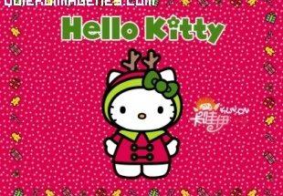 Hello Kity recibe el invierno imágenes