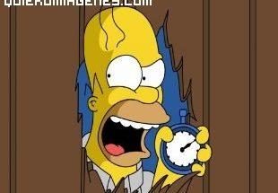 Homer Simpsosn enfadado imágenes