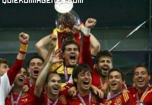 La Roja ganadora de la Eurocopa 2012 imágenes