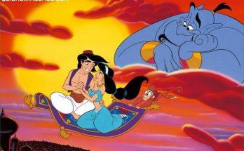 Aladdin y Jasmine enamorados imágenes