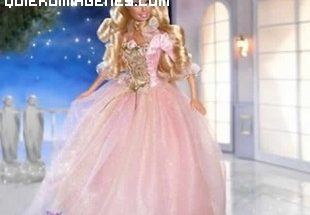 Barbie princesa rosa imágenes
