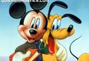 Mickey y su amigo Pluto imágenes