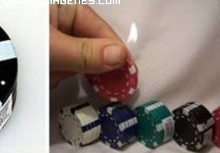 Mecheros fichas de poker imágenes