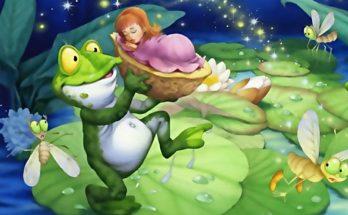La rana y el bebé imágenes