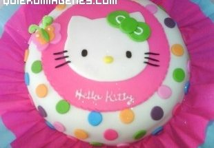 Tarta de Hello Kitty imágenes