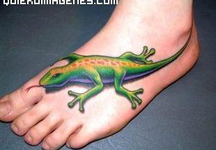 Lagartija tatuada imágenes