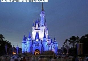 Espectacular castillo de Cenicienta en Orlando imágenes
