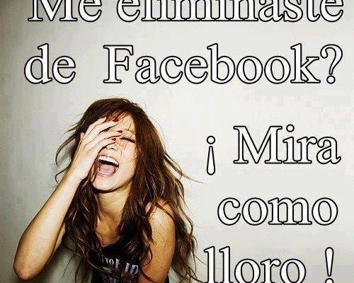 Eliminar del Facebook imágenes