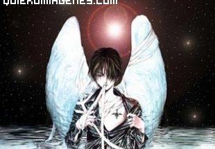 Imagen gótica de un ángel imágenes