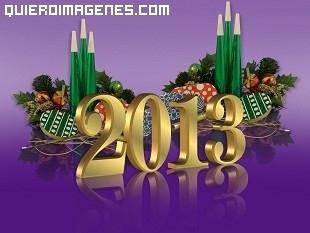 Felicitar el 2013 en Facebook imágenes