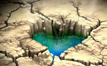 Un corazón en tierra árida imágenes
