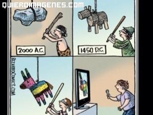 Evolución de las piñatas imágenes