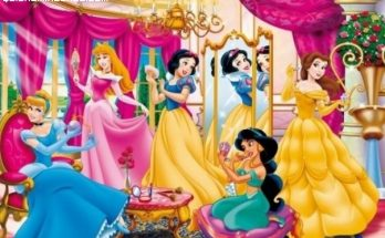 Las princesas presumidas imágenes