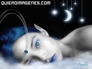 La melancolía en el rostro de una Elfa imágenes
