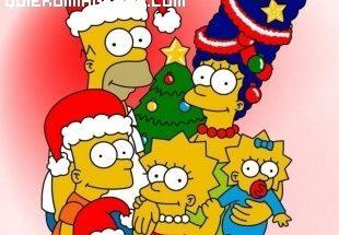 Los Simpson en Navidad imágenes