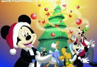 Mickey y la Navidad imágenes