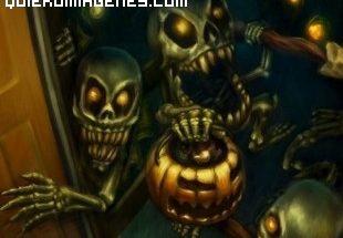 Monstruos de Halloween imágenes
