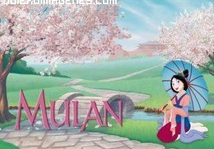 Mulan y su sombrilla imágenes