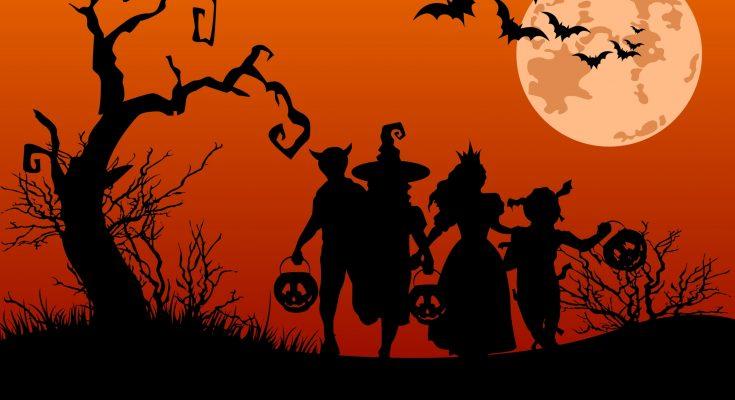 Noche de Halloween imágenes