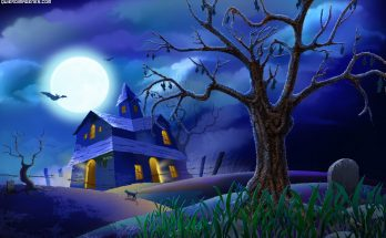 Paisaje Halloween imágenes