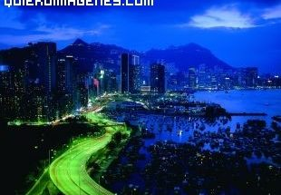 Ciudad de noche imágenes