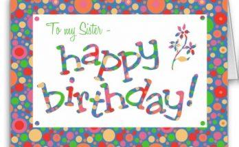 Felicidades para mi hermana imágenes