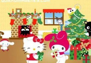 Regalos de Navidad para Hello Kitty imágenes