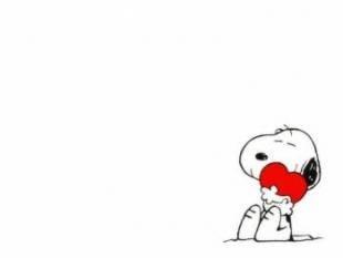 Snoopy y su corazón imágenes