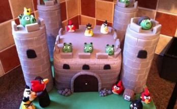 Tarta-Castillo infantil imágenes