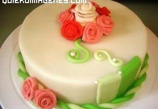 Imagen de Tarta de Flores imágenes